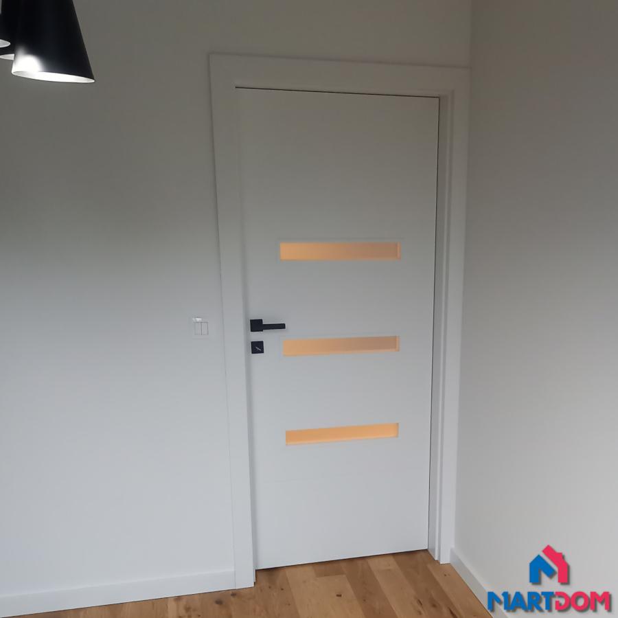 Drzwi DRE Binito Białe RAL 9003